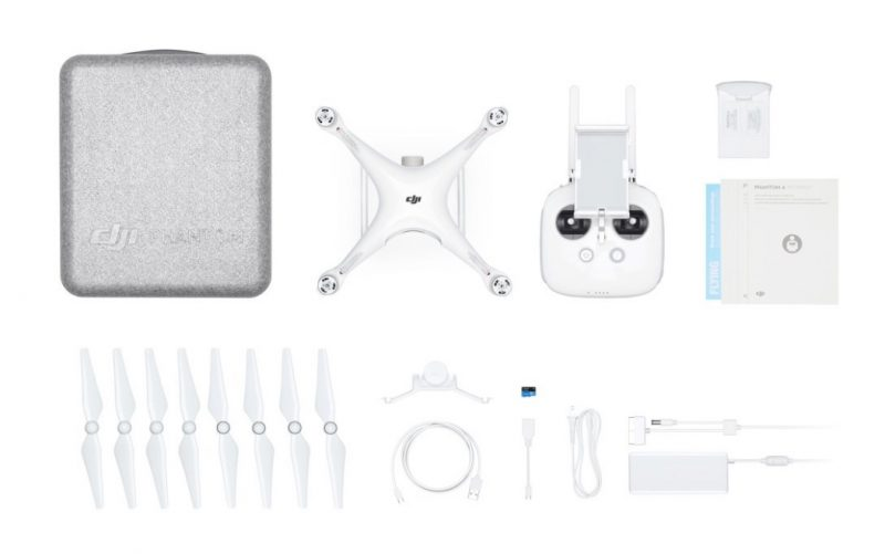 DJI Phantom 4 PRO - full kit with spares