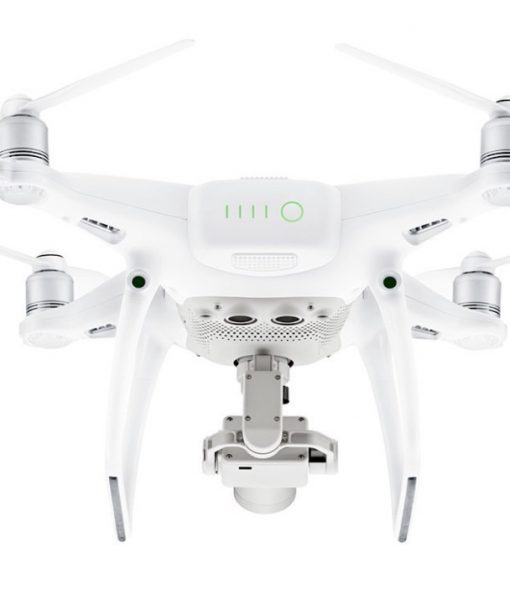 DJI Phantom 4 PRO - rear underside view showing downward proximity sensors