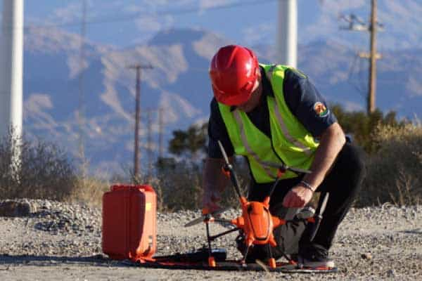 Drones in infrastructure inspections