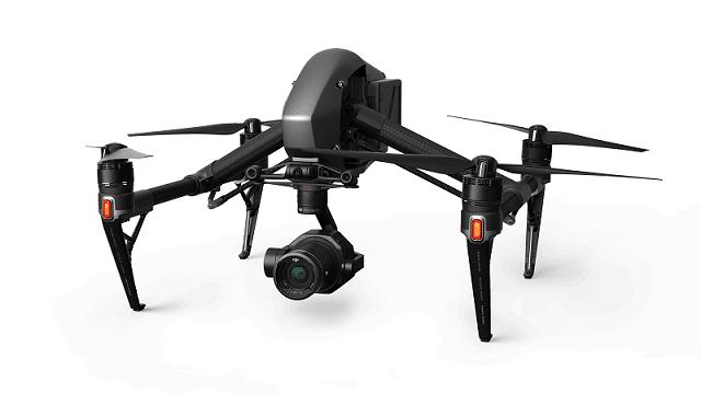 DJI Inspire 2 video camera drone