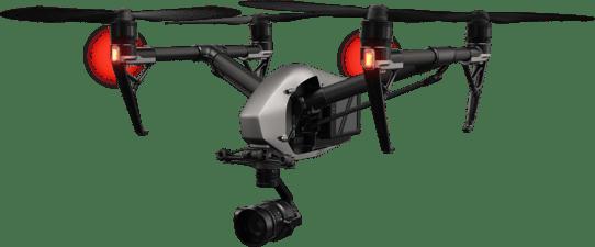 DJI Inspire 2 real estate drone