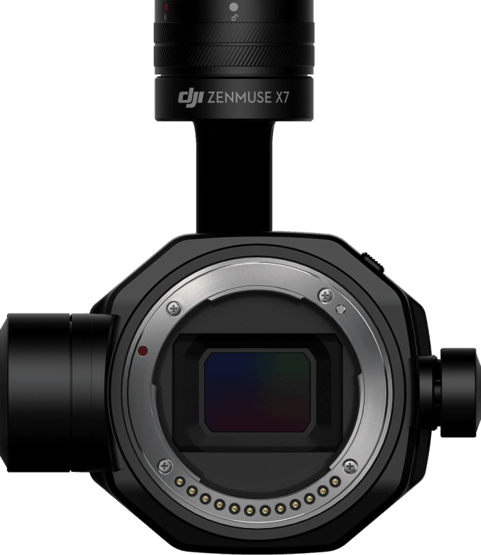 Zenmuse X7 for video camera drone