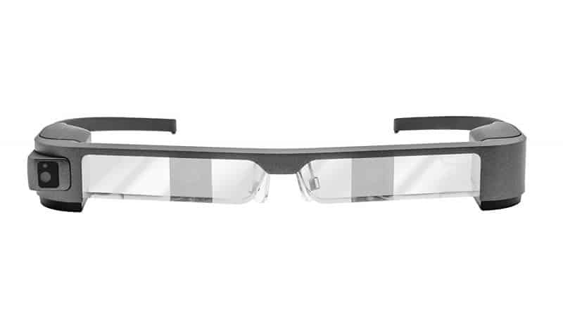 Epson Moverio BT-300 Smart Glasses for drone training
