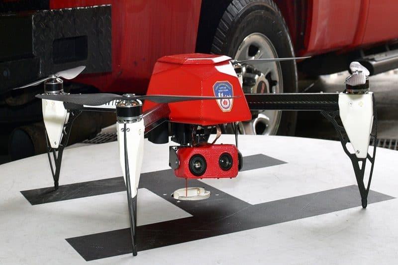FDNY fire fighting Drone