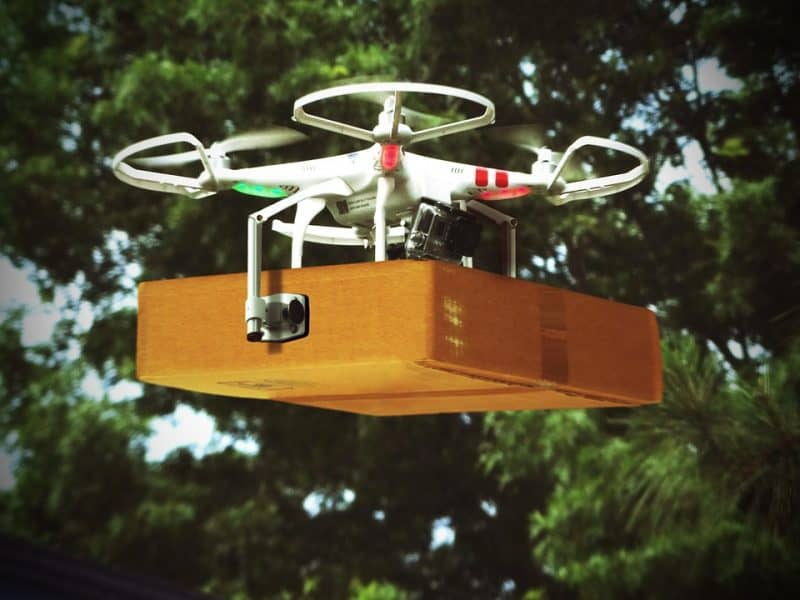 new uses of drones with cameras