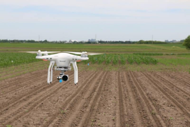 AI in UAVs for agriculture and other industries
