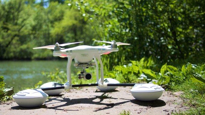 Dronerafts all-terrain landing gear