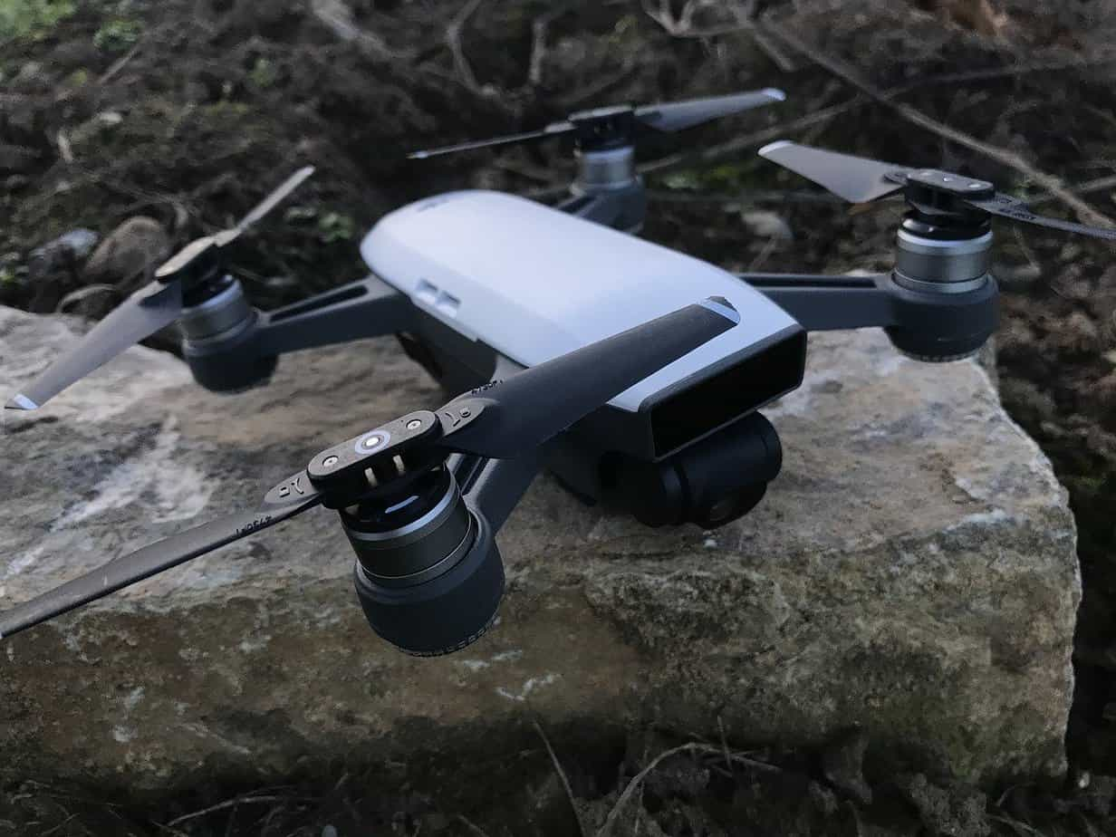 DJI Spark - one of the most popular hobbyist drones
