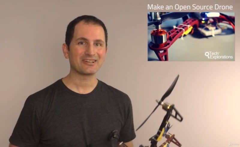 Making an open source drone - udemy