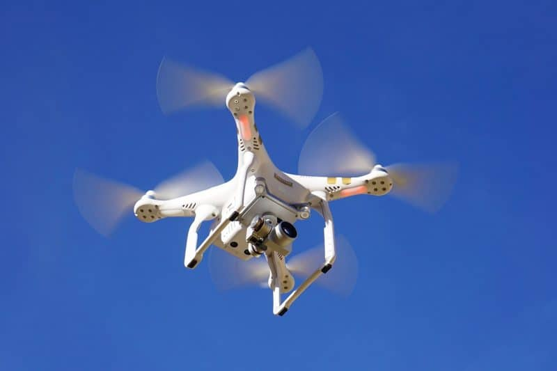 aerial camera drones are being used for accident investigations