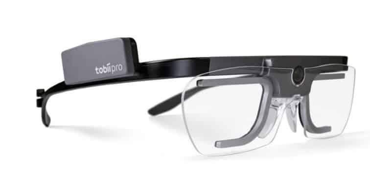 Tobii Pro Glasses 2 eye-tracking glasses