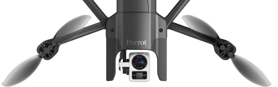 Parrot Releases Anafi Thermal Drone for Enterprise Applications